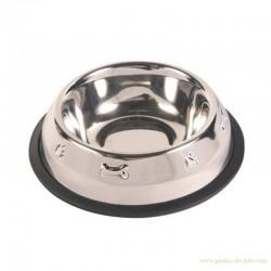 Gamelle inox pour chien 21 cm