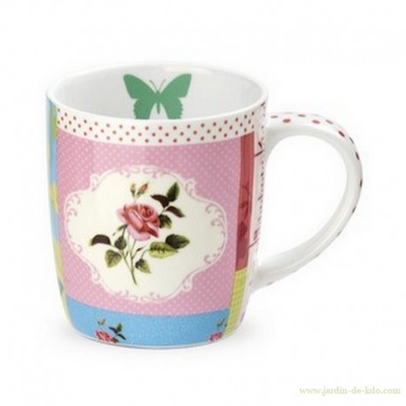 Coffret Mug Patchwork
