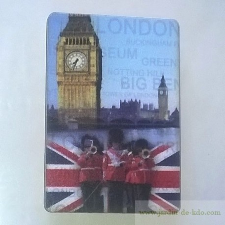 Magnet Big Ben UK Gardes Anglais