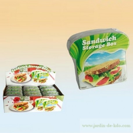 Sandwich Box PVC Alimentaire