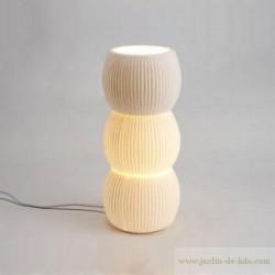 """Lampe céramique """"Boules"""" moderne"""