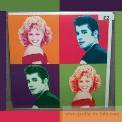 Carte Pop Art Grease