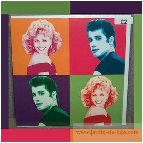 Carte Pop Art Grease Travolta