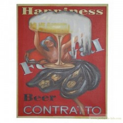 "Toile ""Beer Contratto"""