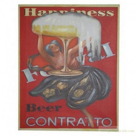 """Toile """"Beer Contratto"""""""