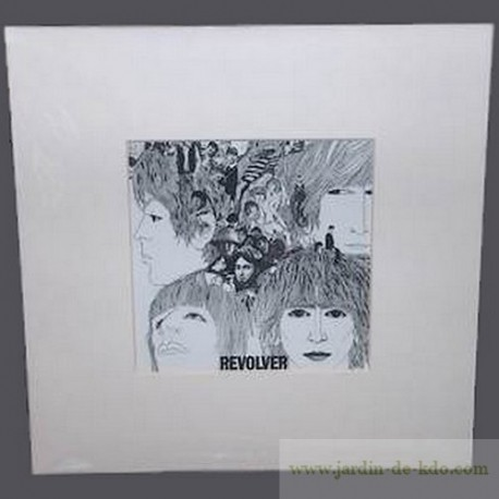"""Cadre """"Revolver – The Beatles"""" Album"""