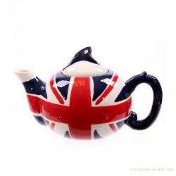 Théière anglaise Union Jack