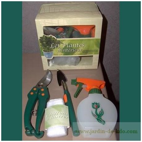Coffret cadeau guide plantes et accessoires