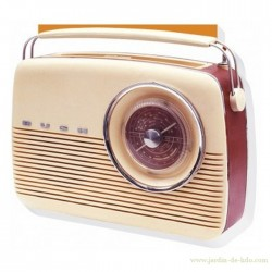 Carnet Notebook radio Bush vintage