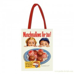 Sac Munchmallows for tea enfants macarons