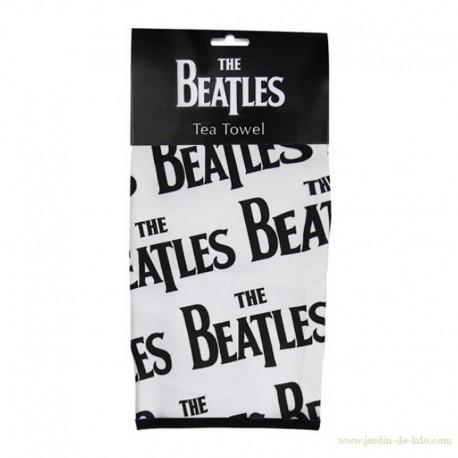 Torchon The Beatles Logos Multipliés