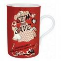 """Mug """"Sew and Save"""""""