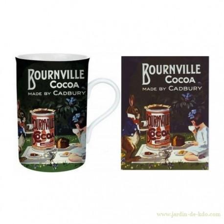 Mug Cadbury Bournville Cocoa Fille Lapin