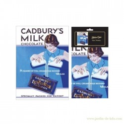 "Torchon ""Cadbury's Milk Chocolate"""
