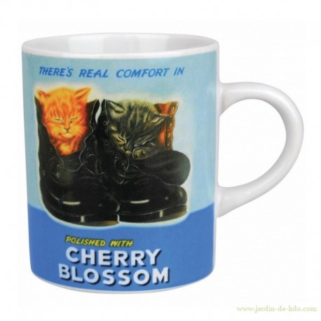 Mug Cherry Blossom Cirage Half Moon Bay