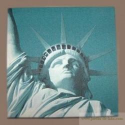 """Grande toile """"Statue de la Liberté"""""""