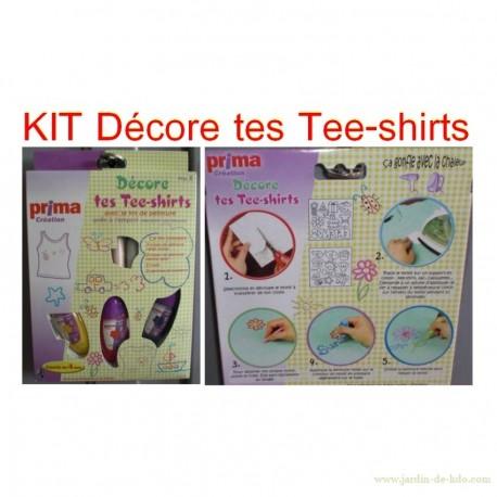 Kit décore tes tee-shirts prima création