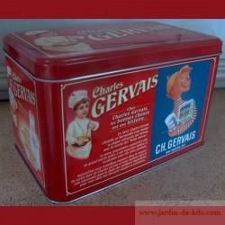 """Boite Gervais """"En vente ici"""""""