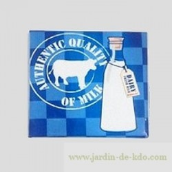Magnet Milk Cow Authentic Quality