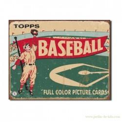 Plaque Topps - Baseball 1954