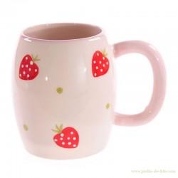 """Mug """"Fraises Rouges"""""""