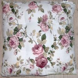 """Dessus de chaise """"Roses d'antan"""""""