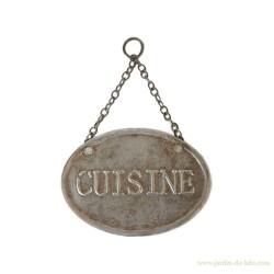 "Plaque de porte ""Cuisine"""