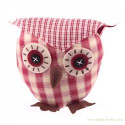 Hibou en tissu
