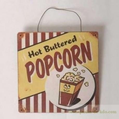 """Plaque """"Pop Corn"""""""