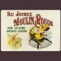 """Set de table """"Moulin Rouge"""""""