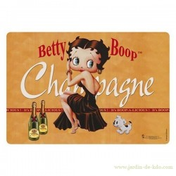 "Set de table ""Betty Boop – Champagne"""