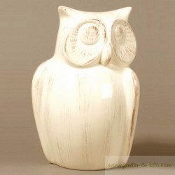 Tirelire Chouette Hibou Home Edelweiss