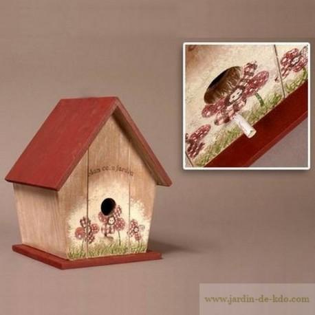 Cabane oiseaux belles finitions Mon Coin Jardin