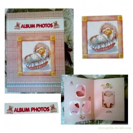 Album Photos Naissance Bébé Landeau