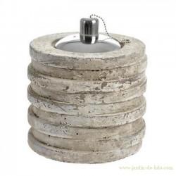 Lampe à huile cylindrique
