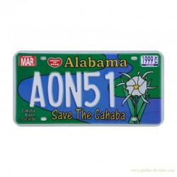 "Plaque Alabama ""Save The Cahaba"""