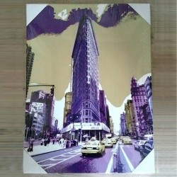 "Toile New-York ""Flatiron Building"""