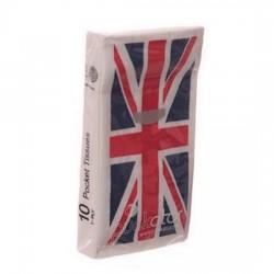 """Paquet de mouchoirs en papier """"Union Jack"""""""