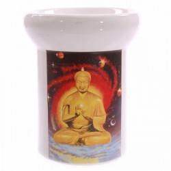 Brûleur à huiles essentielles Bouddha