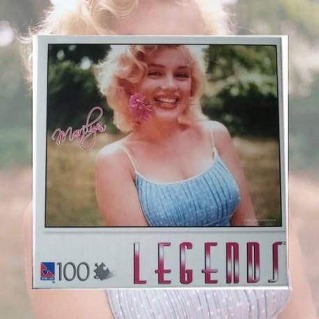 Puzzle Marilyn Couleur 100 pièces