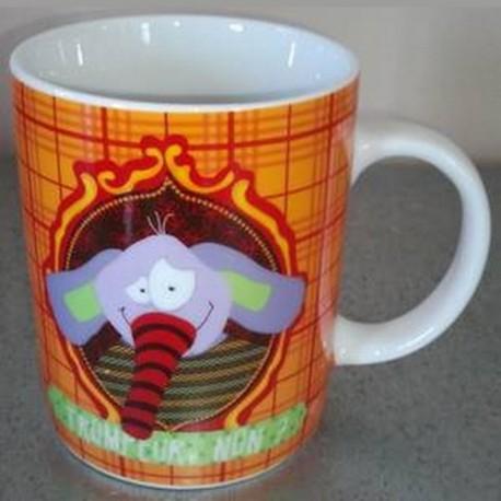 """Mug Eléphant """"Trompeur, non ?"""""""