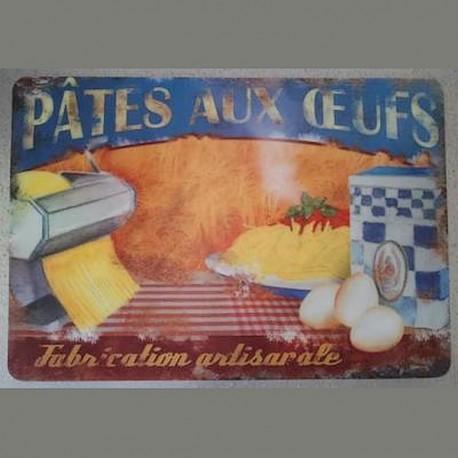 Set table pâtes aux oeufs