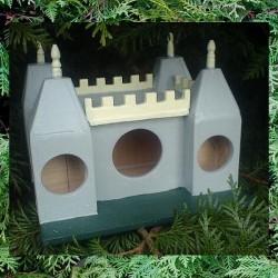 """Cabane à oiseaux """"Château Fort"""""""