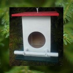 Cabane à oiseaux Toit Rouge