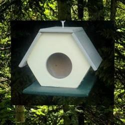 Cabane à oiseaux Toit 3 Pents