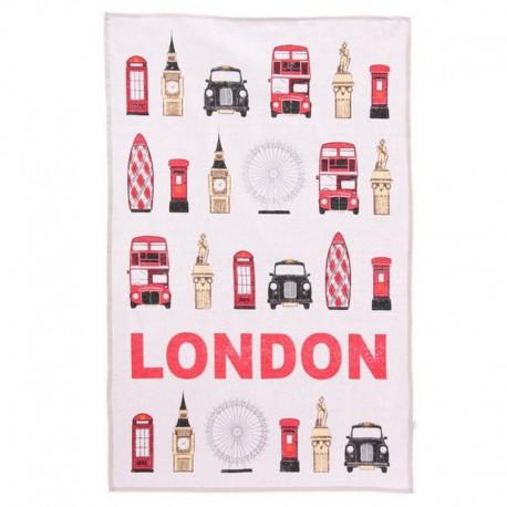 Torchon Symboles de Londres