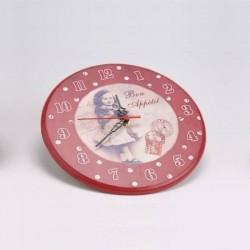 """Horloge """"Bon Appétit"""""""