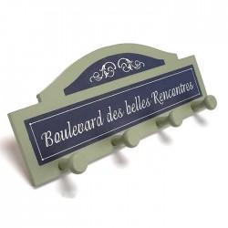 """Patère """"Boulevard des belles rencontres"""""""