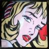 Housse de coussin BD Pop Art Bandes Dessinées