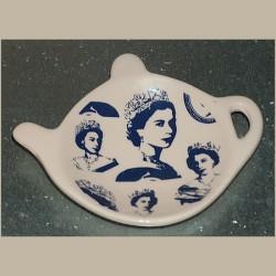 Repose sachet de thé 4 portraits Reine Elisabeth